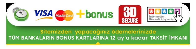 Adana Vip Çiçek, tüm bankaların bonus kartlarına 10 aya varan taksit imkanı