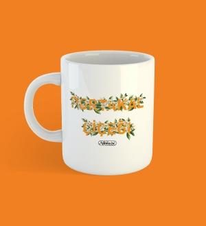 Portakal Çiçeği Kupa Bardak