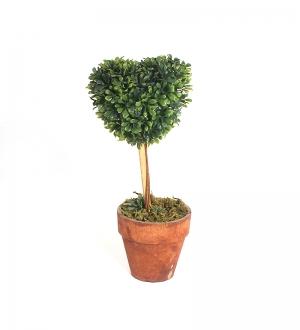 Yapay Mini Ağaç (Kalp)